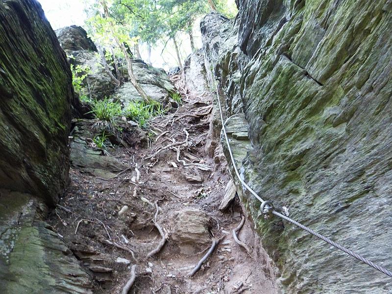 Klettersteig Riol : Ole har fået en svaghed for klatrestier. her mehring rioler